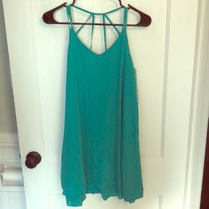Turquoise cocktail dress!